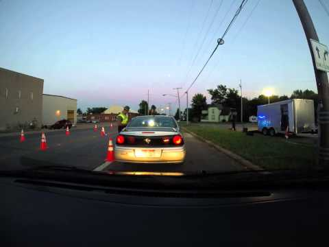 OVI Checkpoint only – Rt.39 Mansfield – Camera visible, no questions?