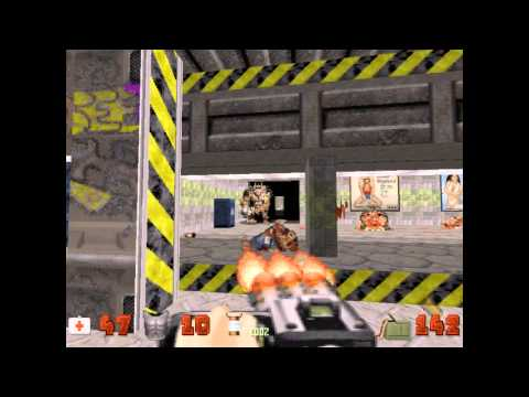 preview-Let\'s Play Duke Nukem 3D! - 023 - Shrapnel City - Stage 6: Rabid Transit (ctye85)