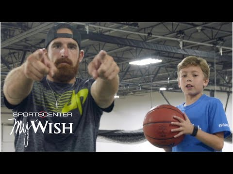 My Wish: Dude Perfect performs trick shots with 11-year-old Nolan   SportsCenter