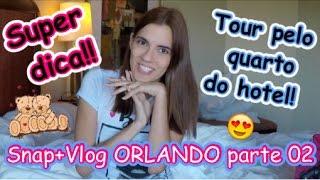 Super Dica + Tour pelo quarto do Hotel - Vlog Orlando Parte 02