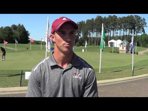 Drew Thompson After Day Two of the NCAA Division III Men's Golf Championship