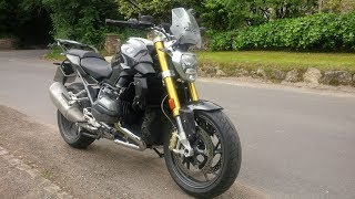 1. New 2018 BMW R1200R review and some thoughts