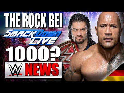 Kommt The Rock zu Smackdown 1000?, Infos zum All In Event  | WWE NEWS 64/2018