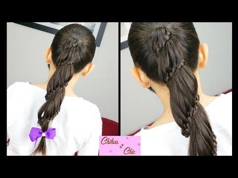 Trenza en Espiral / Carrusel – Spiral / Carousel Braid | Chikas Chic