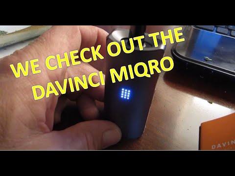 Impressions of a dry herb vape - Davinci Miqro