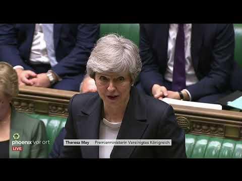 Neuer Gesetzentwurf zum Brexit von Theresa May am 22. ...