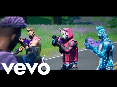 XXXTENTACION - Look At Me! (Official Fortnite Music Video) | Fade Vs Drift