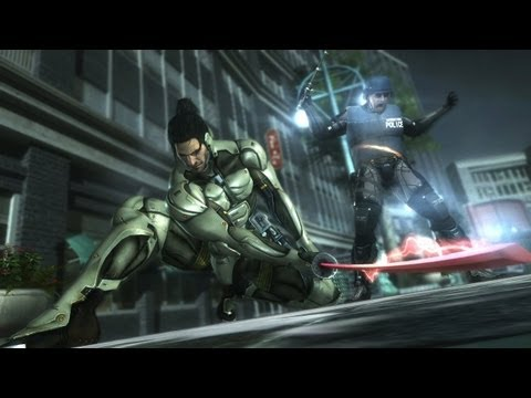 Metal Gear Rising Revengeance Jetstream Sam DLC