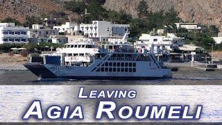 Rejs z Agia Roumeli