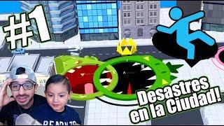 Desastre en la Ciudad | Hole.io Gameplay | Juegos Karim Juega
