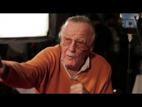 Watch Stan Lee Playing Marvel Avengers: Battle for Earth