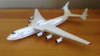 Video Herpa 1/400 Antonov Airlines AN-225 Unboxing MP3, 3GP, MP4, WEBM, AVI, FLV Agustus 2018