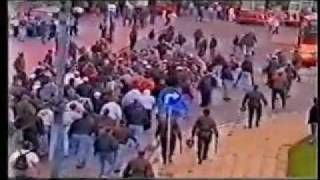 Zabrze Poland  city photos gallery : 1996, Poland-Germany | German Hooligans in Poland, 96' Zabrze