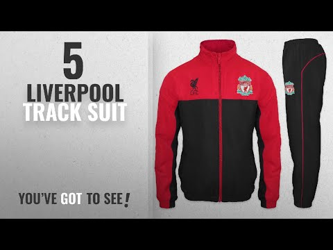Top 10 Liverpool Track Suit [2018]: Liverpool FC Official Football Gift Mens Jacket & Pants
