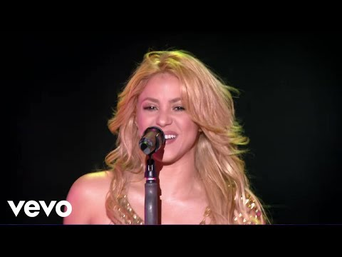 0 Whenever, Wherever (Live From Paris) Shakira
