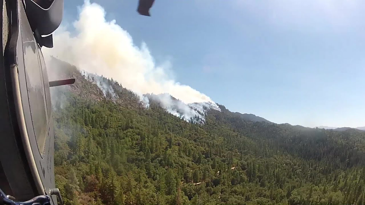 The California National Guard Fights the Rim Fire Over Yosemite National Park