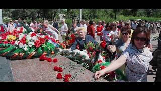 Митинг, посвященный 76-ой годовщины Великой Отечественной войны