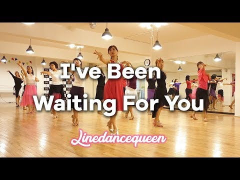 I've Been Waiting For You Line Dance(Improver) Alison Johnstone & Joshua Talbot