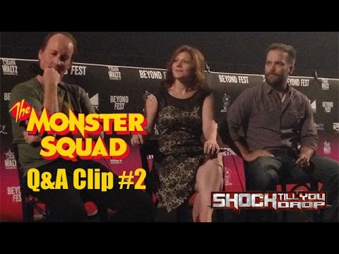 """THE MONSTER SQUAD Q&A Clip 2 - """"Like we did in 1987"""""""