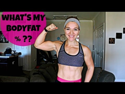 BODY FAT TALK - MY BF % & WHAT IS A HEALTHY RANGE FOR WOMEN