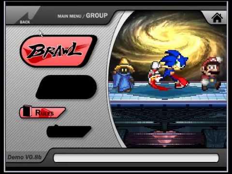 Super Smash Flash 2! Remake do jogo (Super Smash Bros)