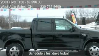 2003 Ford F150 SuperCrew 139 - for sale in AKRON, OH 44319
