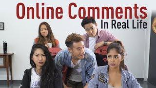 Video Online Comments In Real Life MP3, 3GP, MP4, WEBM, AVI, FLV Januari 2019