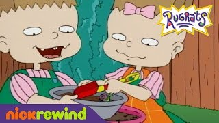 Phil and Lil Make Mud Pie | Rugrats | NickRewind