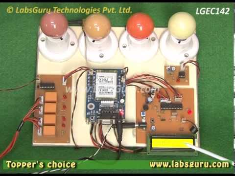 Home Automation & Security by SMS using GSM by KitsGuru.com   LGEC142