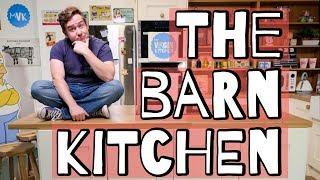 Barn Kitchen Walk Through by  My Virgin Kitchen