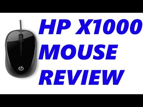 HP X1000 mouse Review + unboxing: HP Compact mouse for laptops