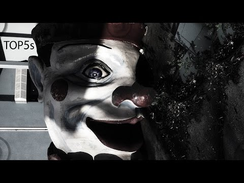 5 Scariest & Most Haunted Amusement Parks