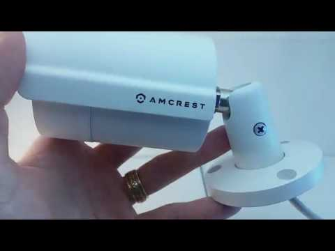 Amcrest ProHD Outdoor 4 Megapixel POE Bullet IP Security Camera Review, Excellent IP Camera