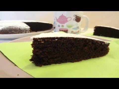 video ricetta: una facile torta al cioccolato