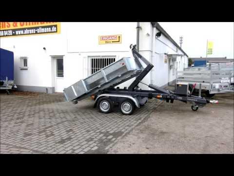 Containeranhänger Rückwärtskipper Muldenanhänger Container Mulden Pkw Anhänger von Ahrens & Ullmann