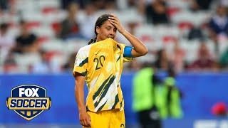Analysis of Sam Kerr's poor performance and missed penalty kick | FOX Soccer Tonight™ by FOX Soccer