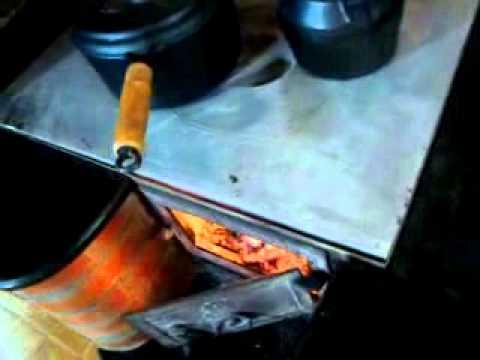 Fogão a lenha-chapa em alumínio fundido