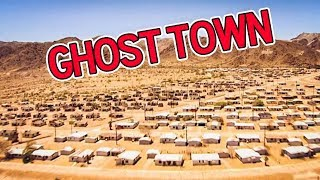 Video ABANDONED gigantic GHOST TOWN in the California Desert (bloody hospital found) MP3, 3GP, MP4, WEBM, AVI, FLV Maret 2018