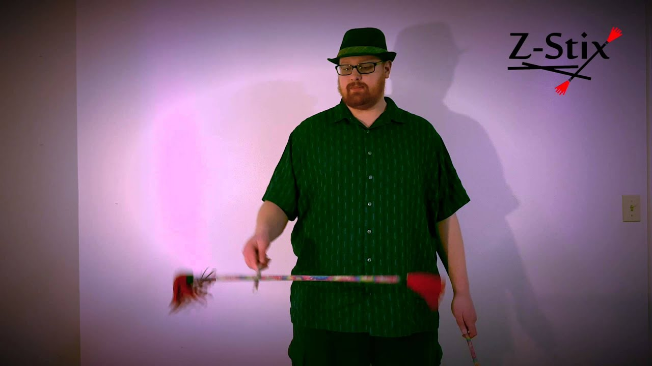 Z-Stix Flower Stick Beginner Tutorial 103: One Handed Flip Flop