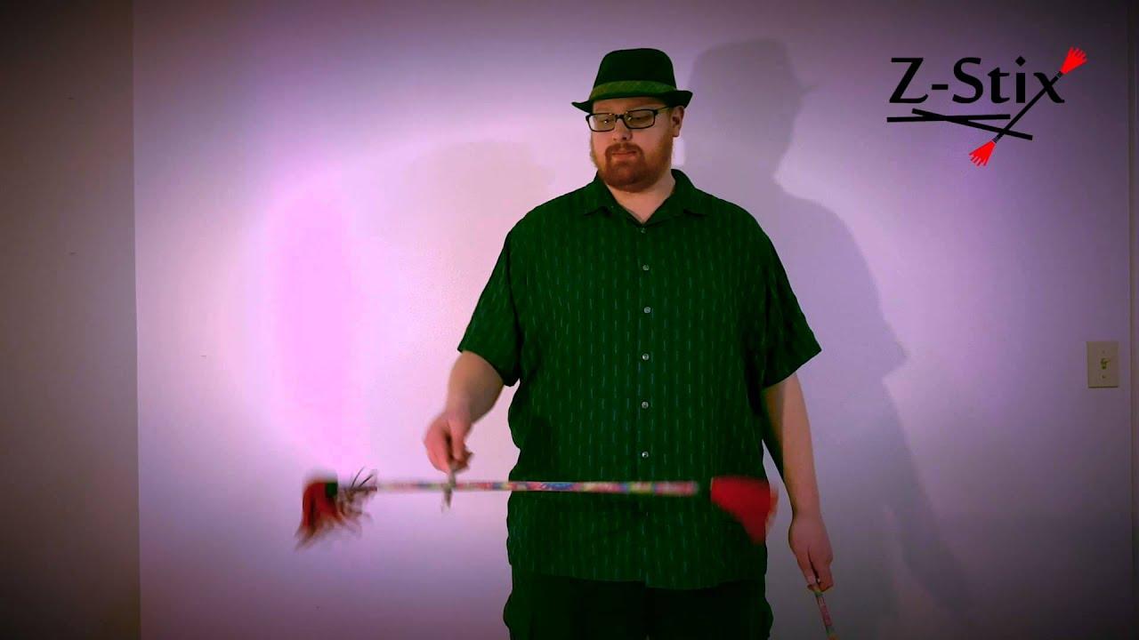 Z-Stix Flower Stick Beginner Tutorial 103: One Handed Flip Flop