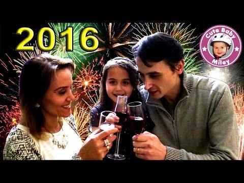 CuteBabyMiley Silvester Spezial - Wir wünschen allen ein gutes neues Jahr 2016
