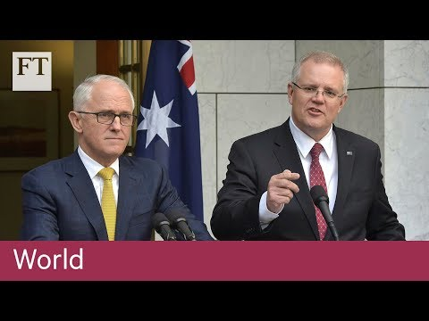 Morrison to replace Turnbull as Australian PM