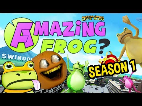 AMAZING FROG - Season #1 (Annoying Orange Episodes 1-10 Supercut)