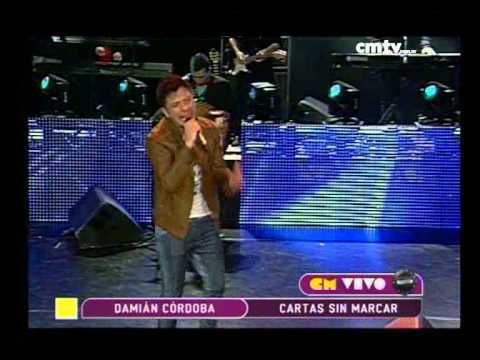 Damián Córdoba video Cartas sin marcar - CM Vivo 2014