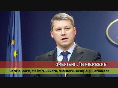 Discuții între Ministrul Justiției și grefierii nemulțumiți