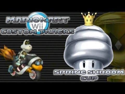 Mario Kart Wii - Custom Tracks | Spring 'Shroom Cup