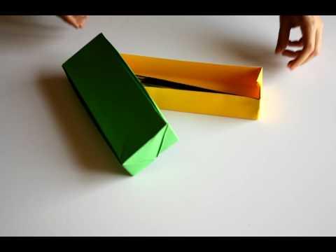 Caixa Origami com folhas A4