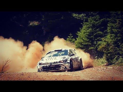 Test VW Polo R5 WRC2