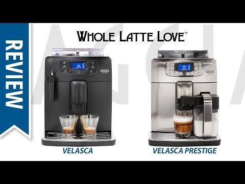 Review: Gaggia Velasca & Velasca Prestige Bean to Cup Coffee Machines