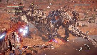 Horizon zero Dawn Vs. Battle Machines Compilation #1 (Rockbreaker, Behemoth, Thunderjaw)